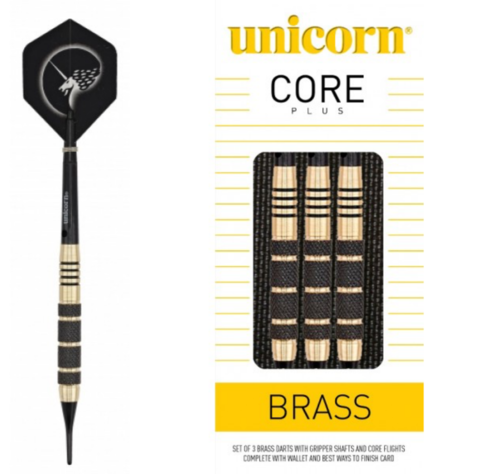 Unicorn Core Brass 17 g Softdarts
