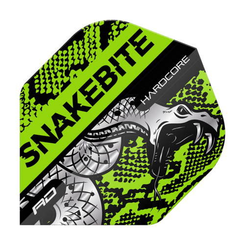 Red Dragon Hardcore Snakebite Snake Green Flights