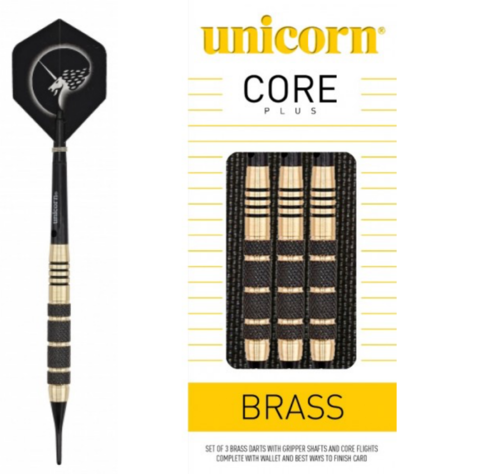 Unicorn Core Brass 19 g Softdarts