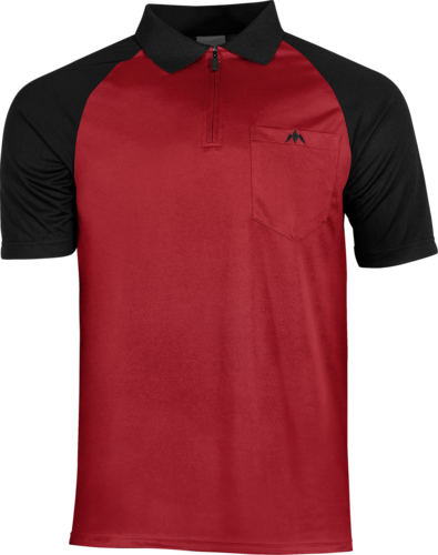 Mission Darts EXOS Cool FX Shirt  Red - Black