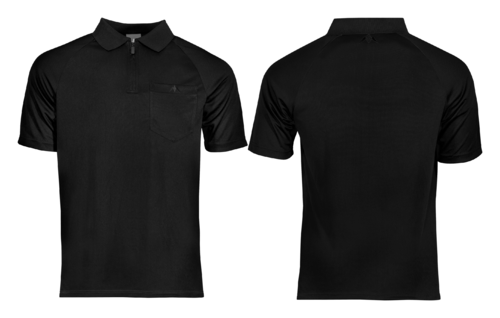 Mission Darts EXOS Cool FX Shirt  Black  Personalisiert