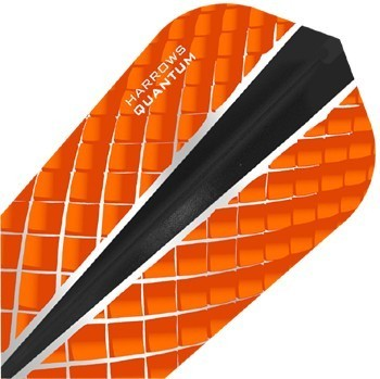 Harrows Quantum X Slim Flights Orange