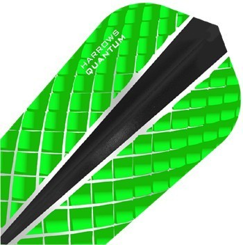 Harrows Quantum X Slim Flights  Green