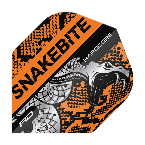 Red Dragon Hardcoe Snakebite Snake Orange  Flights