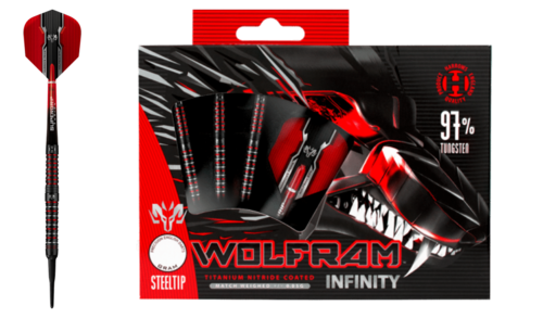 Harrows Wolfram 97% Softdarts 18g